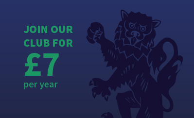 Join our club for £7 per year